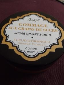 Baïja - Gommage aux grains de sucre - Corps