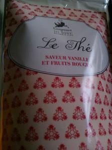 Gourmet in love -  Thé vanille fruit rouge