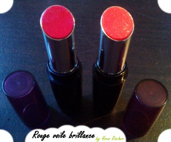 Rouge voile brillance d'Yves Rocher