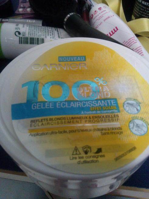 gelée éclaircissante 100% blond de Garnier