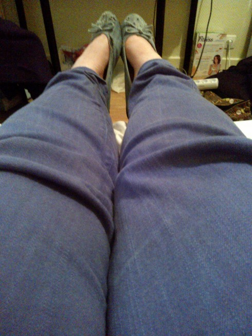 Pantalon et ballerines