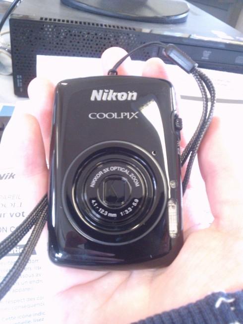 Mon Nikon Coolpix S01