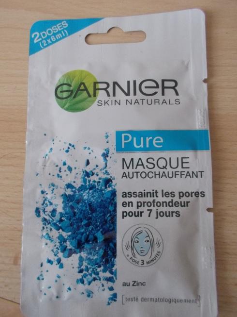Masque Garnier Auto-chauffant