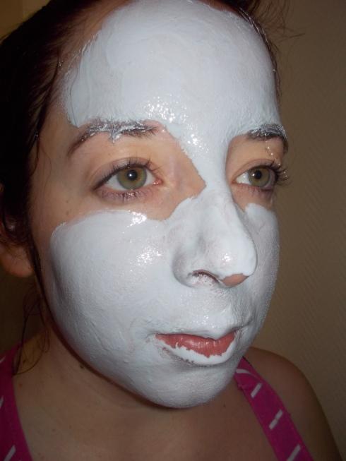 Le masque sur ma tête