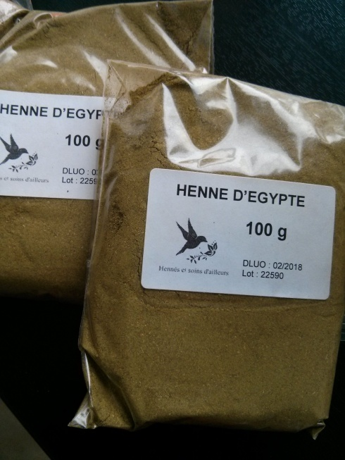 Henné d'Egypte