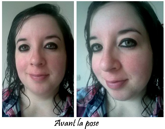 Revue cushion Etude House avant la pose