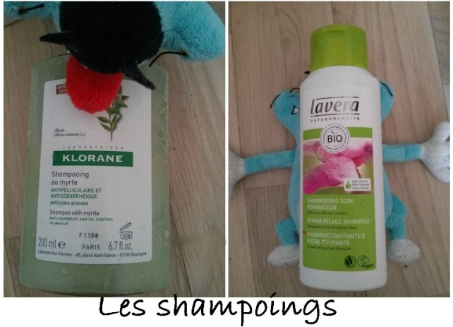 Point cheveux - les shampoings