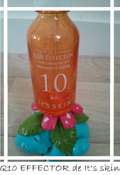 Q10 Effector It's skin