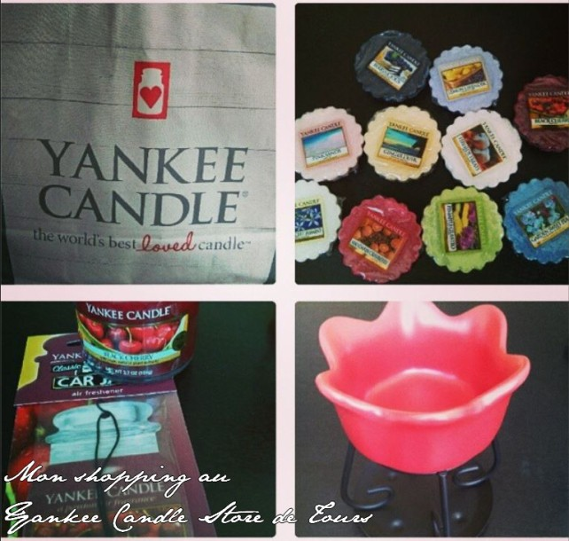Yankee candle premiers achats