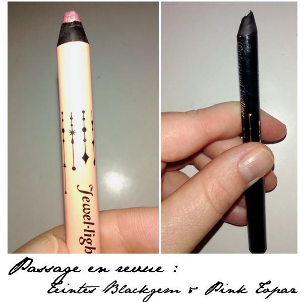Blackgem et Pink Topaz