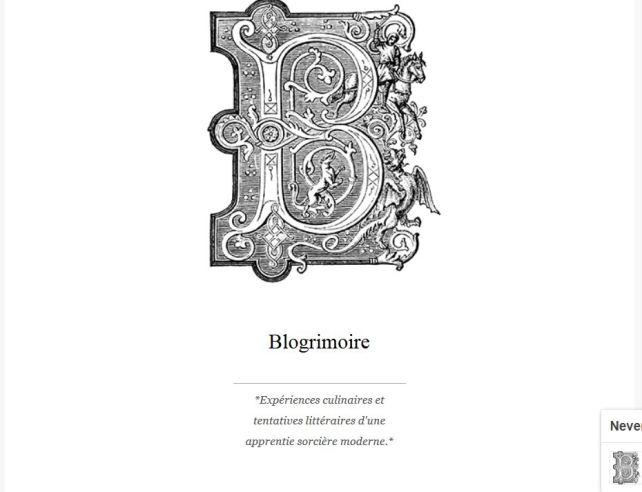 Blogrimoire