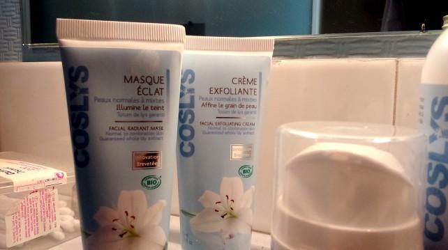Crème exfoliante et Masque éclat Coslys